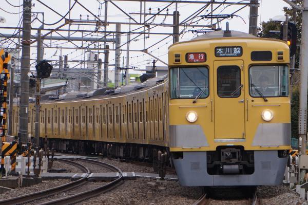 2017-03-17 西武2003F_2417F 急行本川越行き 2653レ