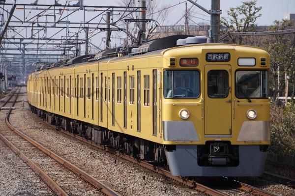 2017-03-17 西武2015F_2525F 急行西武新宿行き 2658レ