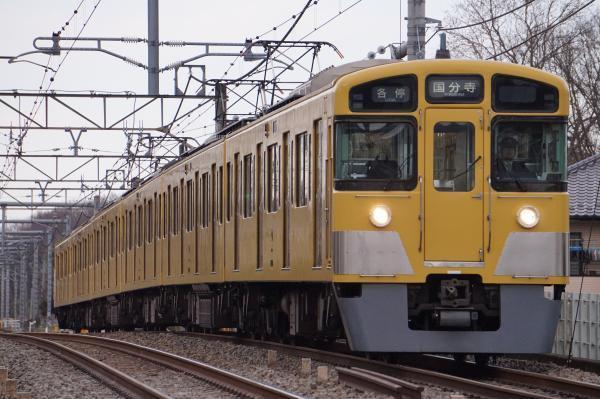 2017-03-17 西武2049F 各停国分寺行き 5712レ