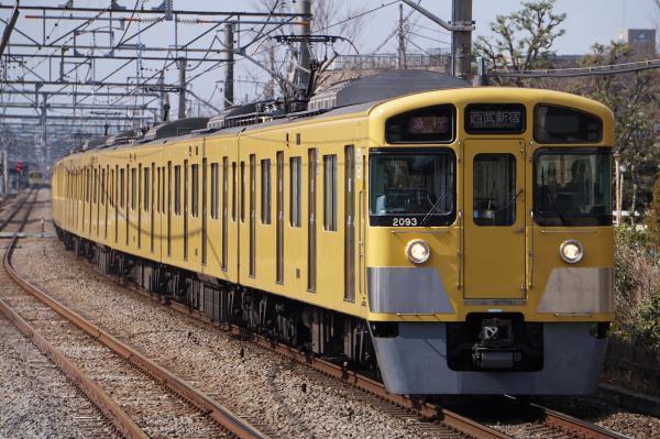 2017-03-17 西武2093F_2411F 急行西武新宿行き 2656レ