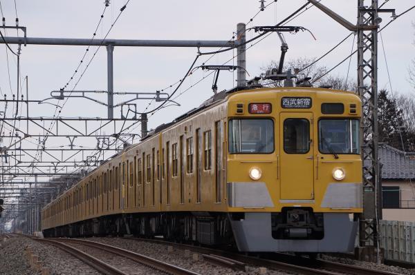 2017-03-17 西武2405F_2067F 急行西武新宿行き 2664レ