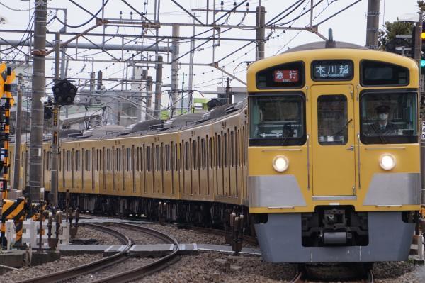 2017-03-17 西武2405F_2067F 急行本川越行き 2651レ