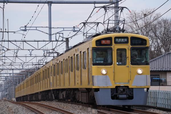 2017-03-17 西武2453F_2083F 急行西武新宿行き 2660レ