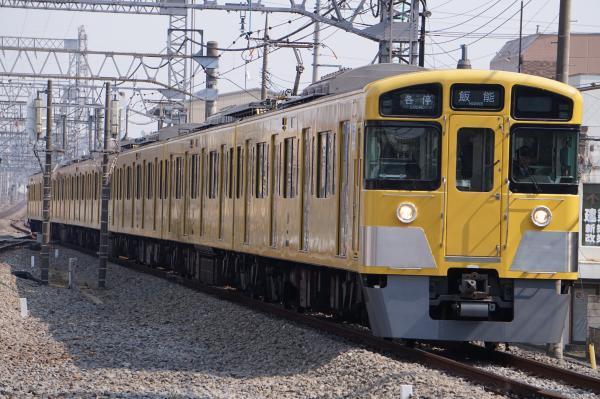 2017-03-19 西武2073F 各停飯能行き 5115レ
