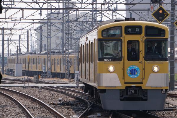 2017-03-19 西武9105F 準急池袋行き 4308レ