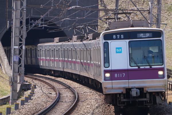 2017-03-22 メトロ8117F 渋谷行き