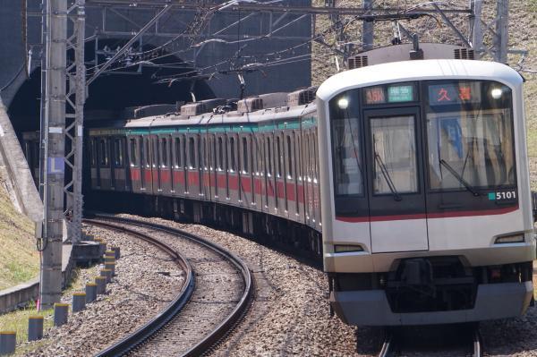 2017-03-22 東急5101F 準急久喜行き