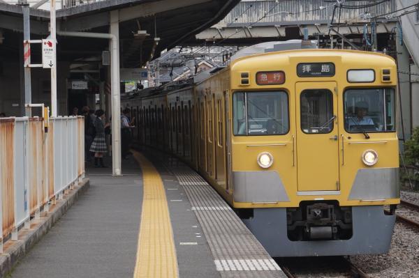 2016-07-25 西武2527F_2015F 急行拝島行き 2313レ