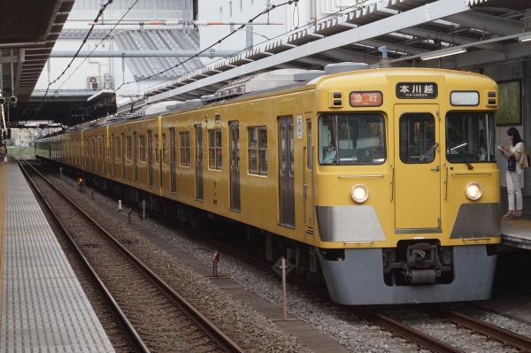 2016-07-25 西武2527F_2015F 急行本川越行き 2665レ