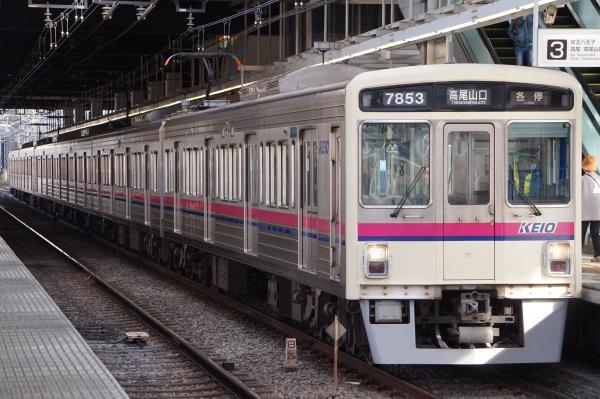 2017-03-24 京王7422F_7803F 各停高尾山口行き2