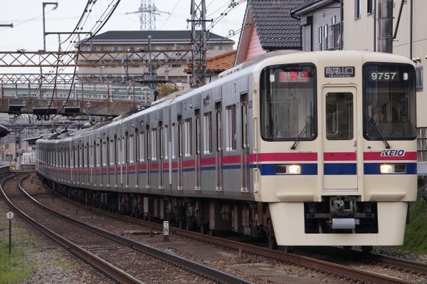 2017-03-24 京王7423F_9707F 特急高尾山口行き1