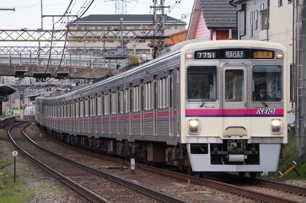 2017-03-24 京王7701F 準特急京王八王子行き