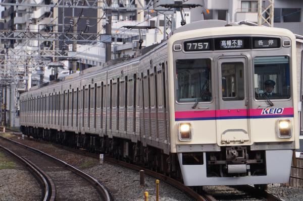 2017-03-24 京王7707F 各停高幡不動行き