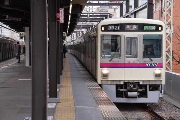 2017-03-24 京王7721F 区間急行新宿行き