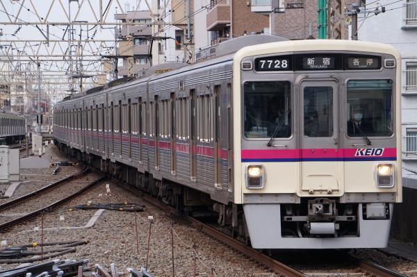 2017-03-24 京王7728F 各停新宿行き