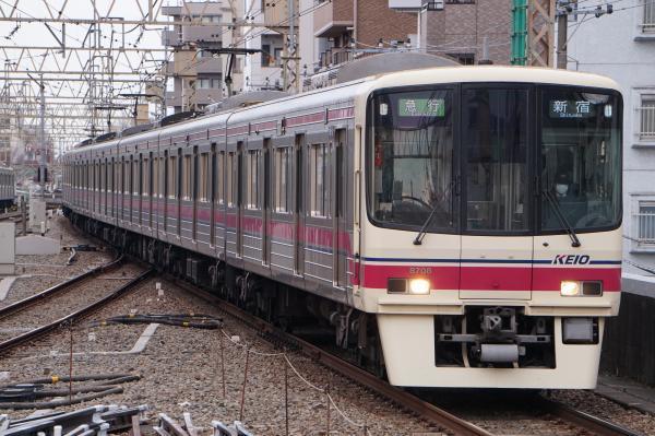 2017-03-24 京王8708F 急行新宿行き