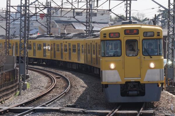 2016-03-31 西武2541F_2019F 急行拝島行き1 2313レ