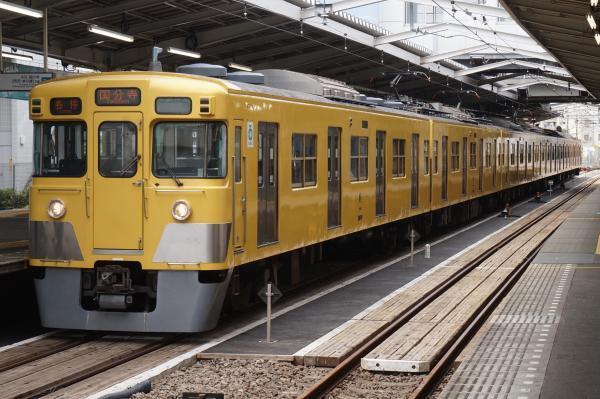 2016-07-25 西武2019F 各停国分寺行き 6688レ