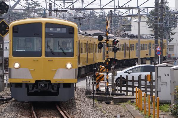 2017-03-29 西武263F 萩山行き 6421レ
