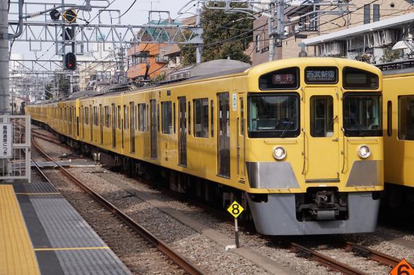 2017-03-29 西武2083F_2457F 急行西武新宿行き 2624レ