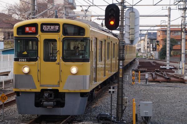 2017-03-29 西武2093F_2417F 急行西武新宿行き 2672レ