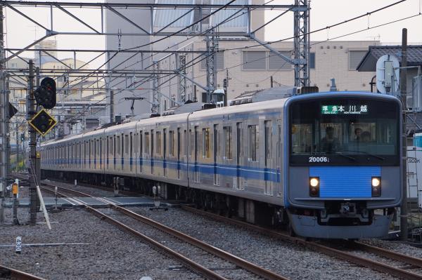 2017-03-29 西武20106F 準急本川越行き 4611レ