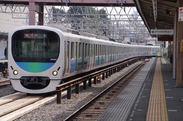 2017-03-29 西武30106F 急行拝島行き 2307レ