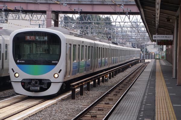 2017-03-29 西武38115F 急行本川越行き 2623レ