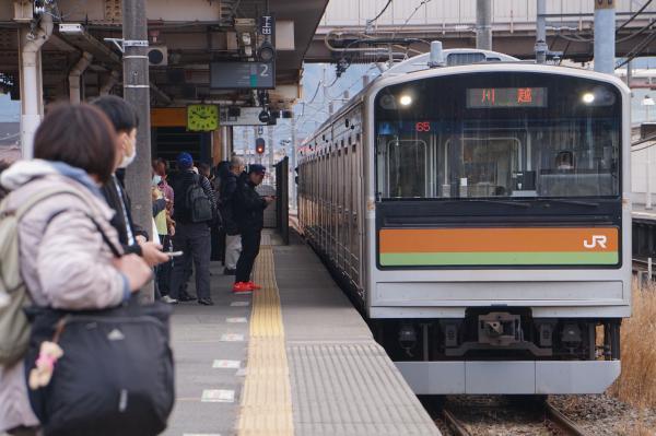 2017-03-29 八高線205系ハエ82編成 川越行き1