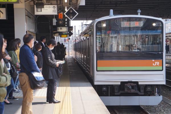2017-03-29 八高線205系ハエ83編成 川越行き1