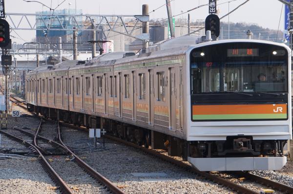 2017-03-29 八高線205系ハエ83編成 川越行き2