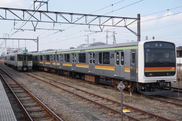 2017-03-29 八高線209系ハエ61編成 キハ112-209
