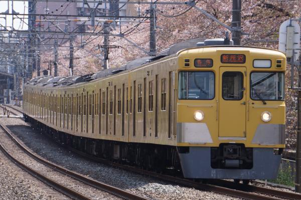 2017-04-15 西武2001F 各停新所沢行き 5805レ