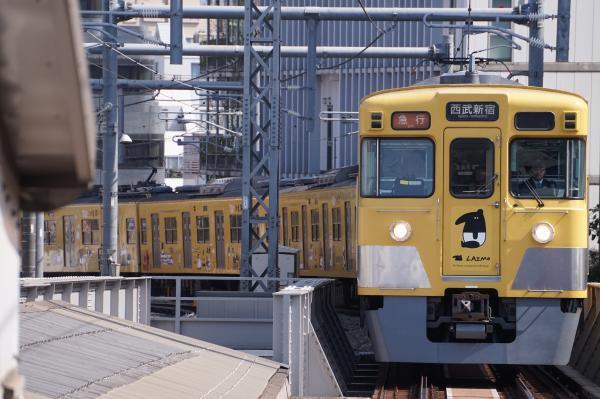 2017-04-15 西武2007F 急行西武新宿行き 2630レ