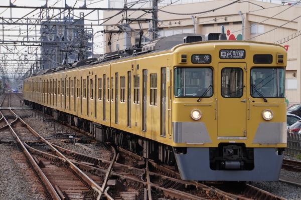 2017-04-15 西武2031F_2419F 各停西武新宿行き 5628レ