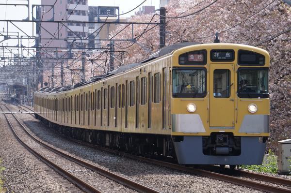 2017-04-15 西武2095F 急行拝島行き 2311レ