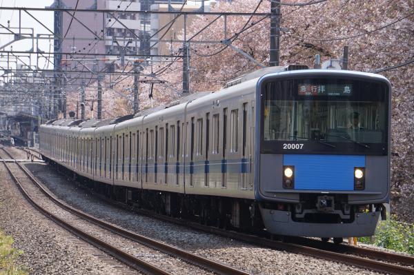 2017-04-15 西武20107F 急行拝島行き 2313レ