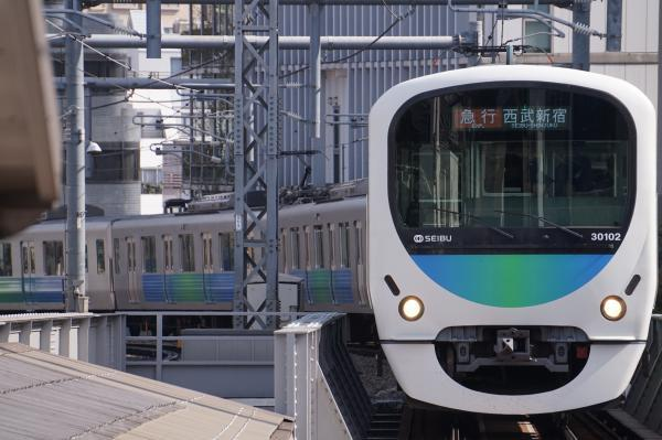 2017-04-15 西武30102F 急行西武新宿行き 2624レ