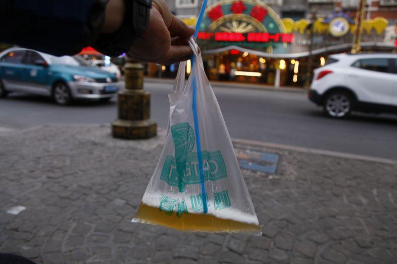 青島ビールビニール袋