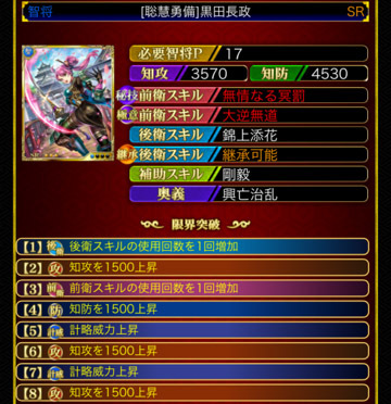 黒田長政17 8凸