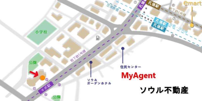 韓国 マポ pickyeater 地図