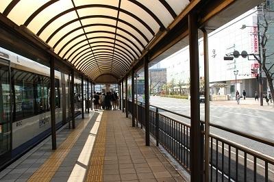 80岡山駅前降車ホーム400