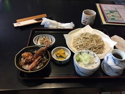 4正衛ミニ天丼セット400