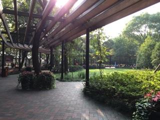 淮海路エリアの公園