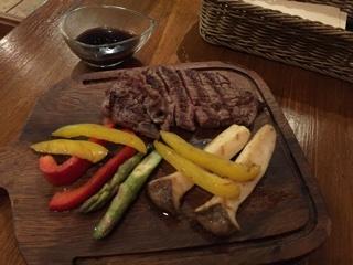 国産赤身牛ヒレ肉&グリル野菜