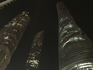 浦東の摩天楼