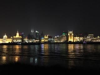 浦東から見る外灘の夜景