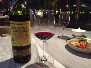 中国の赤ワイン
