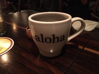 別注のホットコーヒー