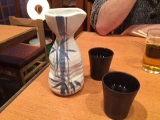 日本酒熱燗
